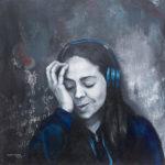 Priscila - Listening Chandelier from Sia